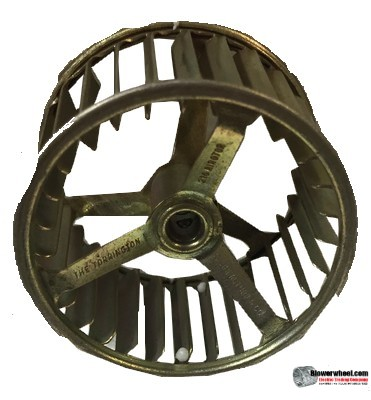 "Single Inlet Blower Wheel 2-1/2"" Diameter 1-7/16"" Width 1/4"" Bore with Clockwise Rotation SKU: 02160114-008-GS-AA-CW-SP-001"