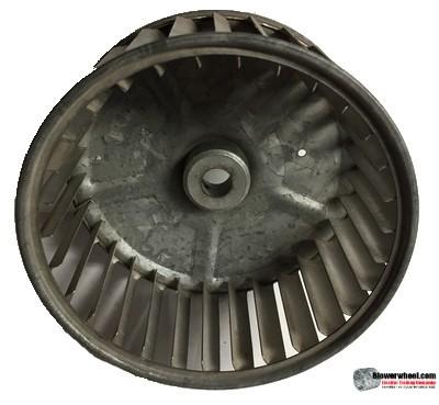 "Single Inlet Steel Blower Wheel 5-1/8"" Diameter 2-1/2"" Width 1/2"" Bore with Clockwise Rotation SKU: 05040216-016-S-AA-CW-001"