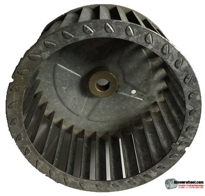 "Single Inlet Steel Blower Wheel 5-3/4"" Diameter 2-13/16"" Width 1/2"" Bore with Clockwise Rotation SKU: 05240226-016-S-T-CW-001"