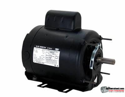 Electric Motor - Capacitor Start - AO Smith - C426V1 -3/4 hp 1725 rpm 115/208-230VAC volts