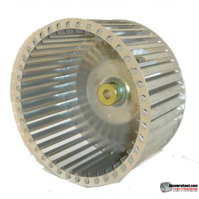 "Single Inlet Blower Wheel 8-1/2"" D 3-3/16"" W 1/2"" Bore SKU: 08160306-016-GS-T-CCW-02"