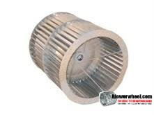 """Double Inlet Steel Blower Wheel 15"""" D 15-1/4"""" W 1-11/16"""" Bore-Clockwise-Counterclockwise  rotation with re-rods-SKU: 150001508-122-HD-S-CWCCWDW-R"""