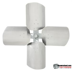 "Fan Blade 16"" Diameter - SKU:FB1600-4-CW-19P-H-HD-002-Q1-Sold in Quantity of 1- IN STOCK"