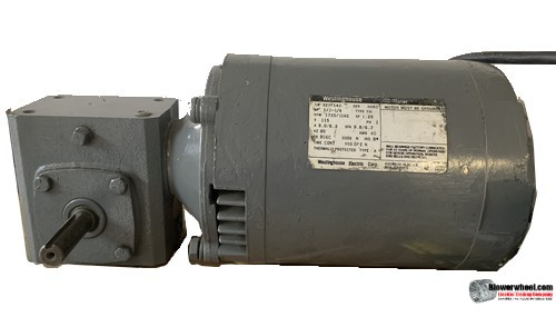 Electric Motor - General Purpose - Westhouse - westhouse-327p142 -½ hp 1725/1140 rpm  volts - SOLD AS IS