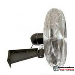 "Explosion Proof 24"" Wall Mtg Air Circulator- 115/230 volatage"