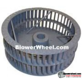 "Single Inlet Steel Blower Wheel 9"" D 5-1/8"" W 5/8"" Bore-Clockwise  rotation- with Re-rods and rings SKU: 09000504-020-HD-S-CW-R-W"