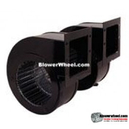 Blower Double Unit Blower AOS#9486 twin 115VAC
