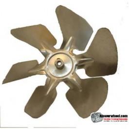 """Fan Blade 8"""" Diameter - SKU:FB-0800-6-F-A-CW-010-C-001-Q1-Sold in Quantity of 1"""