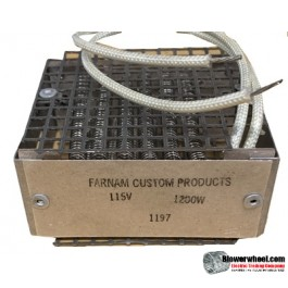 Heating Element Ventilaire -  HE-1197-1200 Watts-115 volt AC with Overload Protection