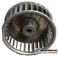 "Single Inlet Blower Wheel 2-1/2"" Diameter 1"" Width 1/4"" Bore with Clockwise Rotation SKU: 02160100-008-A-AA-CW-001"