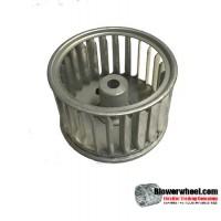 "Single Inlet Blower Wheel 2-15/16"" Diameter 1-7/8"" Width 5/16"" Bore with Clockwise Rotation SKU: 02300128-010-S-AA-LHUB-CW-001"
