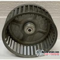 "Single Inlet Steel Blower Wheel 4-5/8"" Diameter 1-7/8"" Width 5/16"" Bore with Clockwise Rotation SKU: 04200128-010-S-AA-CW-001"