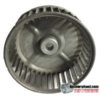 "Single Inlet Blower Wheel 4-5/8"" Diameter 1-7/8"" Width 1/2"" Bore with Clockwise Rotation SKU: 04200128-016-S-AA-CW-001"