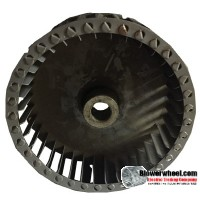 "Single Inlet Blower Wheel 6-3/4"" Diameter 1-7/8"" Width 3/4"" Bore with Clockwise Rotation SKU: 06240128-024-S-T-CW-001"