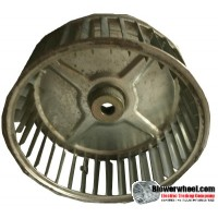 "Single Inlet Blower Wheel 6-3/4"" Diameter 2-7/16"" Width 1/2"" Bore with Clockwise Rotation SKU: 06240214-016-S-AA-CW-001"