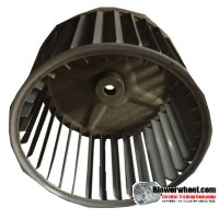 "Single Inlet Blower Wheel 6-3/4"" Diameter 4-3/4"" Width 1/2"" Bore with Clockwise Rotation SKU: 06240424-016-S-AA-CW-001"