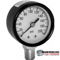 Gauge - Surplus - 100lb pressure gauge -sold as SWNOS