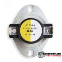 Thermostat - Snap Disc - Snap Disc Fan Thermostat 2E245