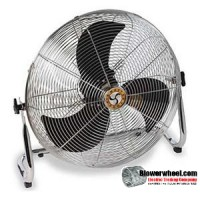 "Residential 18"" Cradle Stand Air Circulator"