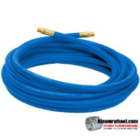 Hose - Campbell Hausfeld - Air Pressure Hose 25' x 1/4in NPT Brass Fittings PA1177 -sold as SWNOS