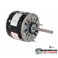 "Electric Motor - 5-5/8"" Diameter - AO Smith - DL1076 -3/4 hp 1075 rpm 115VAC volts"