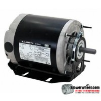 Electric Motor - Split Phase - AO Smith - ARB2036S -1/3 hp 1140 rpm 115VAC volts