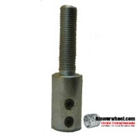"- Surplus - Arbor-5/8""-Threaded -sold as SWNOS"