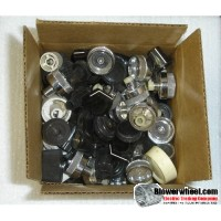 2-1/2 pound of assorted appliance knobs