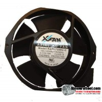 Case Fan-Electronics Cooling Fan - X Fan RAM1738B2-C-Sold as New
