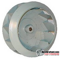 Custom Made Backward Incline Blower Wheels - Please Contact Us With Your Requirements
