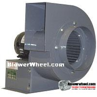 Blower Heavy Duty Curve Blower Heavy Duty 3/4HP #B087518-03