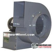 Blower Heavy Duty Curve Blower Heavy Duty 034FHP #B097518-03