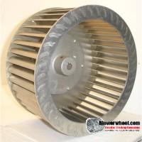 "Single Inlet Steel Blower Wheel 9-1/8"" D 4-3/4"" W 5/8"" Bore with re-rods  SKU: 09040424-020-S-T-CW-01"