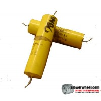 Capacitor - unknown - cap-.68mdf -600 volts -sold as USED