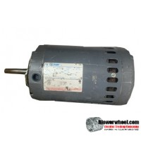 Electric Motor - General Purpose - Century - Bc11-8-158605-1 -1-1/2 hp  rpm 2200-230VAC volts -Resilient Base Double Shaft- SOLD AS IS