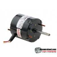 Electric Motor - General Purpose - Fasco - D1164 -1/25 hp 1550 rpm 115/230VAC volts