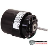 Electric Motor - General Purpose - Fasco - D672B -1/15 hp 1550 rpm 115VAC 115 volts