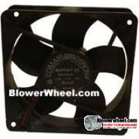 Case Fan-Electronics Cooling Fan - Comair Rotron Comar-Rotron-MC12E6-Sold as SWON
