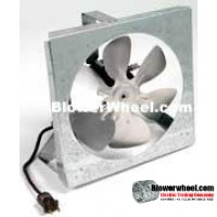 Exhaust-Panel Mount-Commercial Exhaust/Panel Mount/Bath & Kitchen Venting-FE08-1E-Sealed-Motor-Removed From Equipment