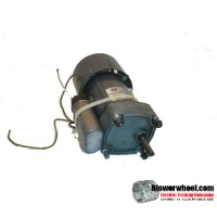 Electric Motor - Gear Motor - Molon - EM5R-153-1-127520390 -140 rpm 115VAC volts