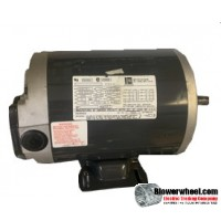 Electric Motor - General Purpose - baldor - emerson-ro062798j -1 hp  rpm 208-220/400VAC volts - SOLD AS IS