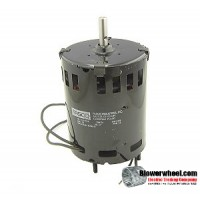 Electric Motor - General Purpose - Fasco - 7121-3932 - hp 3400 rpm 115VAC volts