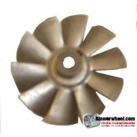 "Fan Blade 2-1/2""  Diameter - SKU:FB-0216-10-R-A-CCW-008-A-001-Q3-Sold in Quantity of 3"