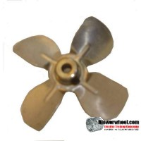 "Fan Blade 3"" Diameter - SKU:FB-0300-4-F-AS-CW-005-B-001-Q1-Sold in Quantity of 1"
