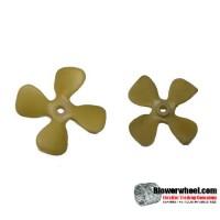 "Fan Blade 3"" Diameter - SKU:FB-0300-4-P-CW-008-Q1-Sold in Quantity of 1"