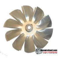 "Fan Blade 3-1/2""  Diameter - SKU:FB-0316-10-R-AS-CW-008-A-001-Q1-Sold in Quantity of 1"