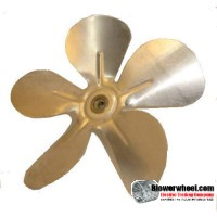 "Fan Blade 5.5"" Diameter - SKU:FB-0516-5-F-AS-CW-006-B-001-Q1-Sold in Quantity of 1"