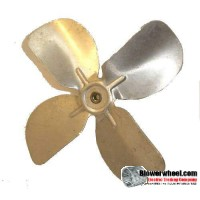 "Fan Blade 6.5"" Diameter - SKU:FB-0616-4-R-AS-CW-005-01-B-001-Q1-Sold in Quantity of 1"