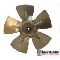 "Fan Blade 7.5"" Diameter - SKU:FB-0716-5-F-AS-CW-010-C-001-Q3-Sold in Quantity of 3"