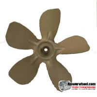 "Fan Blade 8"" Diameter - SKU:FB-0800-5-F-A-CCW-010-B-001-Q3-Sold in Quantity of 3"